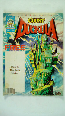 Count Duckula Comic Number 3 July 26th 1989