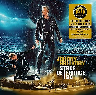Johnny Hallyday Coffret Stade De France 98 / 4 Lps /  N°97/2000 Edition Limite