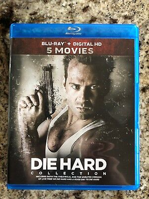 Die Hard: 5-Movie Collection (Blu-ray Disc, 2017, 5-Disc Set).