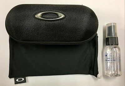 Oakley Sunglasses Case + Oakley Pouch (Microfiber Bag) + Glasses Spray