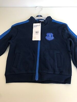 Offical Everton Footbal Club Zip Up Jacket Age 12-18 Months