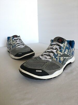 67005fbaf40ea8 REEBOK MEN S CROSSFIT Nano 2.0 Training Shoe - Size 11M White Grey ...