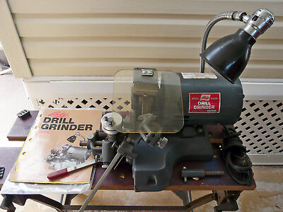 Lisle #91000 Drill Grinder~w/ Diamond Wheel Dresser & Instructions~VGC