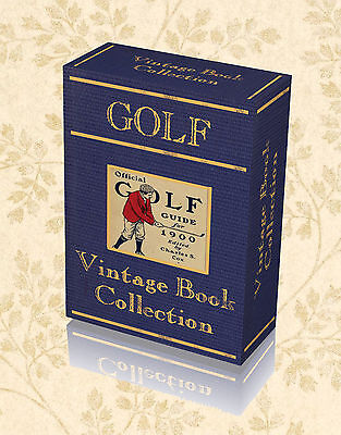 140 Vintage Golf Books on DVD - Masters History Course Club Caddies Player 237