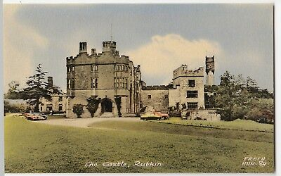 Denbighshire; The Castle, Ruthin PPC By Frith, RHN 84, Unposted c 1960's