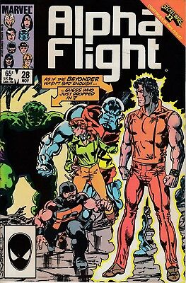 Marvel Comics Alpha Flight No. 28 of 130, 1985 Very Good