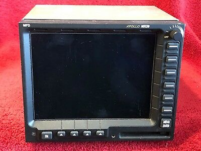 Ups Aviation Technologies Apollo Mx20 Multi Function Display P/n 430-0270-500