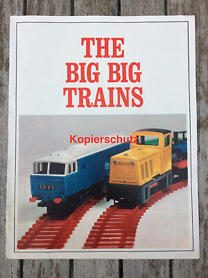 THE BIG BIG TRAINS - Triang - Original Katalog Modell-Eisenbahn ca.1966 - Selten