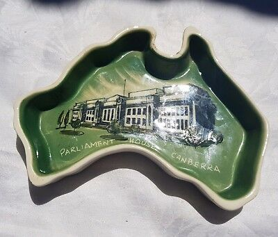 Studio Anna Australian Pottery Parliment House Canberra Hand Painted