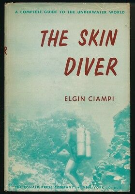 The Skin Diver Ciampi Spear Fishing Aqualung Sunken Ships Underwater Vehicles