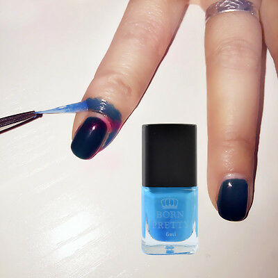 6ml Blue Nail Art Liquid Tape & Peel Off Base Coat Born Pretty  Latex