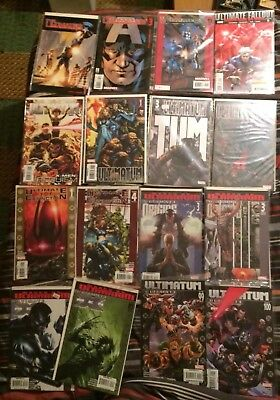 The Ultimates 17 Issue Lot - Nice Stack [marvel Comics]