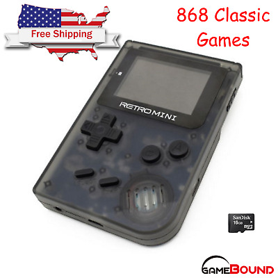 """Retro Mini GBA 2"""" Handheld Game 908 built-in Gameboy Advance Games USA Shipping"""