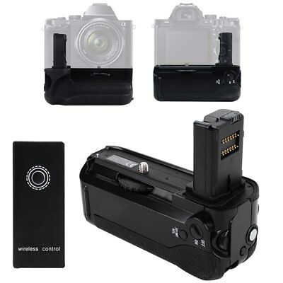 Vertical Battery Grip Holder + Wireless Controller For Sony A7 A7R A7S Camera
