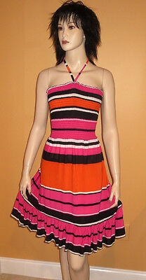 HALTER STRAPLESS BABYDOLL Orange Pink Black SWIMSUIT COVER UP Dress PLUS SIZE 3X
