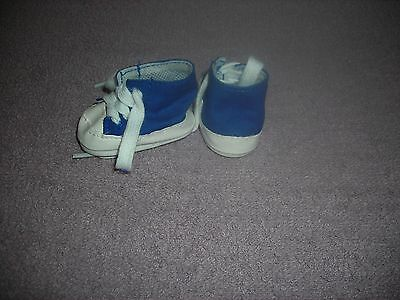 "New Blue Tennis Shoes For American Girl Doll & 18"" Girl/boy Doll; Sale!"