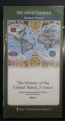 Great Courses / Teaching Company HISTORY OF THE UNITED STATES 2nd Ed. Part 3 DVD