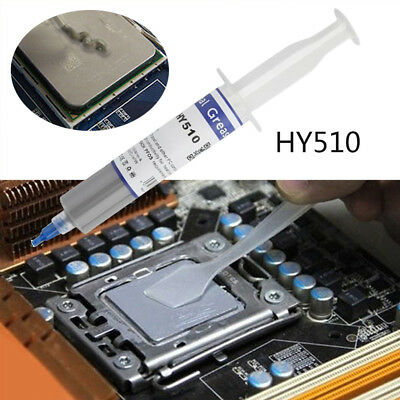 1PC HY510 Grey Thermal Conductive Grease Paste For CPU GPU Chipset Cooling 30g
