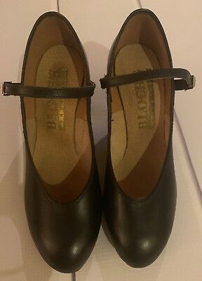 Bloch Character Dance Shoes Black Style #7724 Size 4.5