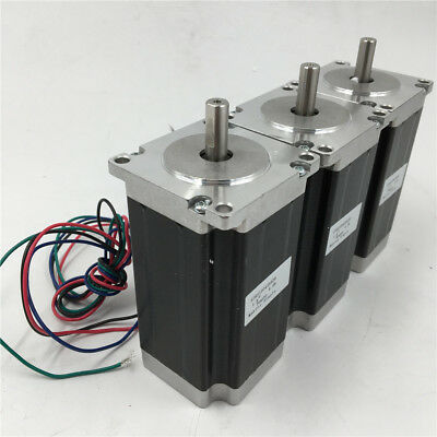 Nema23 Stepper Motor 1.8Nm 255oz.in 3A 2phase 4Wire for CNC Router Engraving