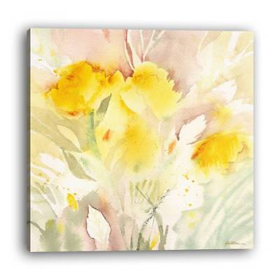 Frame Modern Style Hotel Living Room Painting 1 PC Abstract Flower