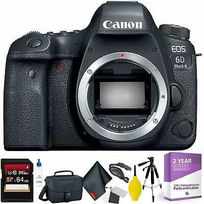 Canon EOS 6D Mark II DSLR Camera Body Only + 64GB Memory Card Bundle001