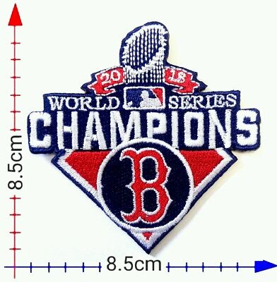 Boston Red Sox Champ Cup 2018 Baseball sport patch Logo iron on,Sewing on Cloth