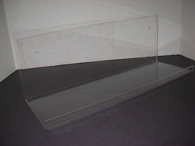 Acrylic Lucite Display Wall Shelf Retro Mod Space Age Atomic Mid Century Modern