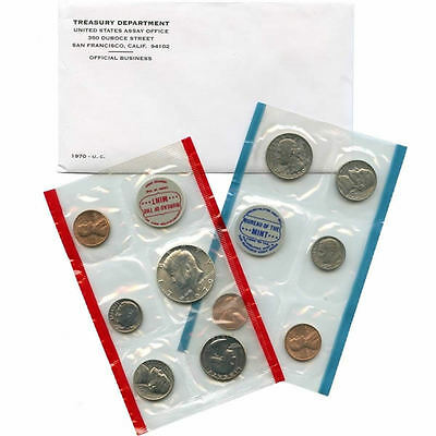 1970 P and D US Mint Uncirculated Coin Set