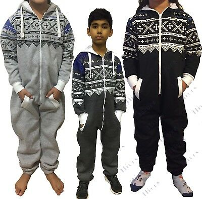 New Kids Printed Onsie1 Boys Girls One Jumpsuit All In One Childrens Aztec Comfy