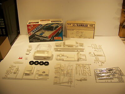 Jo-Han 1969 Super Stock Sc/rambler Amc Hurst Vintage Model Car Kit
