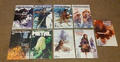 Northlanders 9 Issue Comic Book Collection Lot Vikings Becky Cloonan Brian Wood