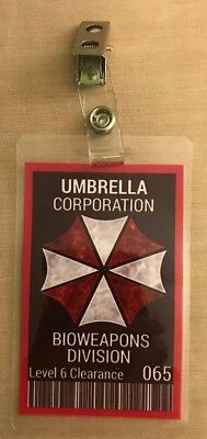 Umbrella Corporation - Bioweapons Division Badge
