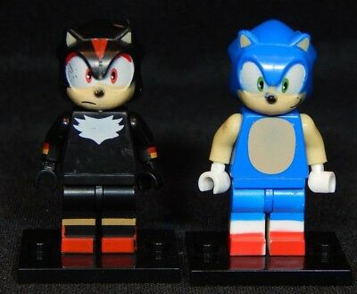 0e972aa6b83 Sonic The Hedgehog Set Minifig Shadow Video Game Building Toy Free USA  Shipping