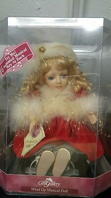Gift Gallery Animated Musical Christmas Beethovens Symphony Porcelain Doll