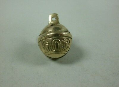 SANTA'S REINDEER SLEIGH BELL JINGLE BELL SOLID BRASS QUALITY BELL (Not a Toy)