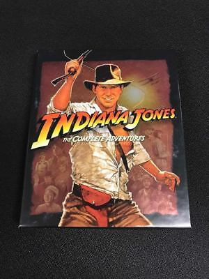 INDIANA JONES The Complete Adventures [Blu-ray Box Set] All 4 Movies Collection
