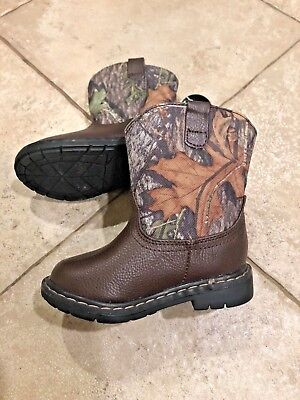 Toddler   Infant Garanimals Mossy Oak Camouflage Pull-On Cowboy Boots 8e9ab3a520e7