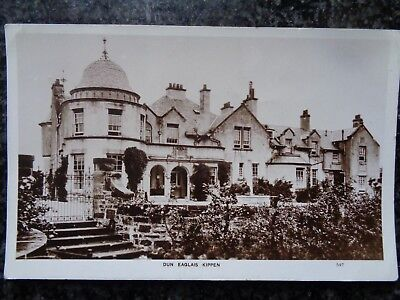Dun Eaglais House - Kippen - Stirlingshire - Fine Sepia RP - Unposted - c1920