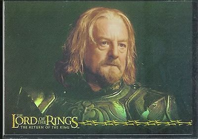 Lotr Rotk Return Of The King Prismatische Foil Karte # 8/10
