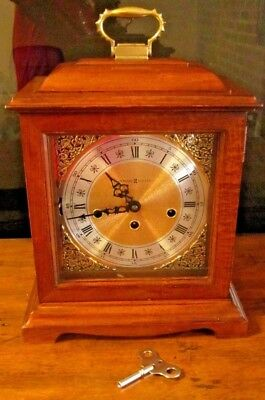 Vintage Howard Miller 612-437 Mantle Clock West Germany Movement Made In USA