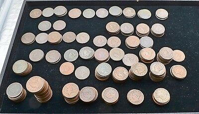 Hoard of 200 US Large Cents 1794 - 1856 No Culls NICE Mix