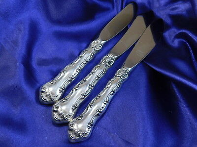 Gorham Strasbourg Sterling Silver Butter Knife Set - Excellent Condition