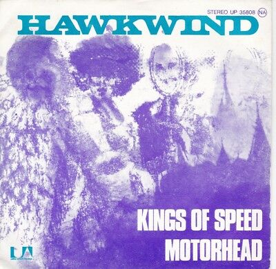 Hawkwind - Kings of Speed - Original PS single from France.