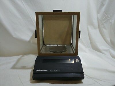 Fisher Scientific XT-400 DR Top Loading Balance Gold Scale for Parts