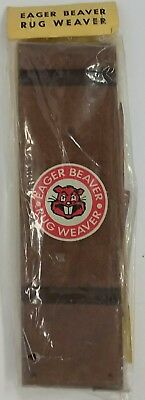 Vintage Eager Beaver Rug Weaver~Weaving Loom~Seattle, Washington~Em5-5123