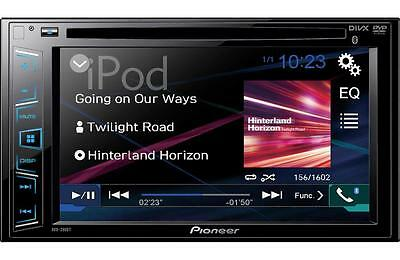 "Pioneer Double 2 Din AVH-280BT RB DVD/MP3/CD Player 6.2"" Touchscreen Bluetooth"