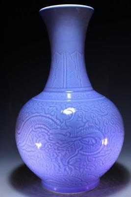 Chinese Famille Rose Glazed Porcelain Vase,