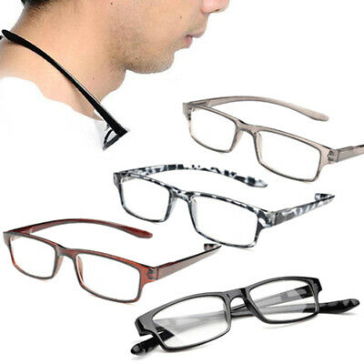 Unisex Adjustable Reader Reading Glasses Connect Neck Hanging Eyewear+1.00~+4.00