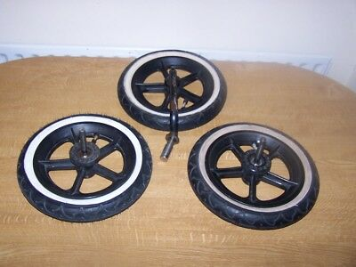 Phil And Teds Set Of Three Wheels For E3 Buggy